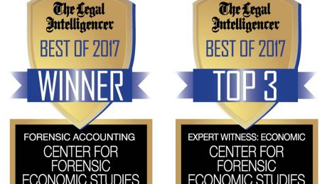 2017 Best Of Best Economist in Best Forensic Accounting Group