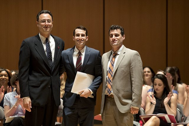 2017 Graduating law students of Temple University's Beasley School of Law receive The Center for Forensic Economic Studies' Jerome M. Staller Excellence in Litigation Award from Center Senior Economist