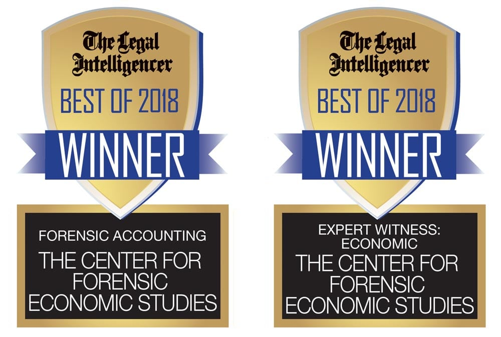 2018 Best Of Best Economist in Best Forensic Accounting Group