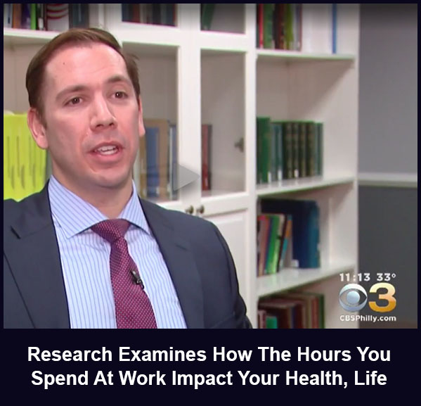 Research Examines How The Hours You Spend At Work Impact Your Health and Life