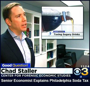 Chad Staller - Senior Economist - Explains the New Philadelphia Soda Tax